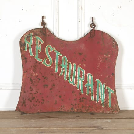 French Painted Restaurant Trade Sign DA8016088