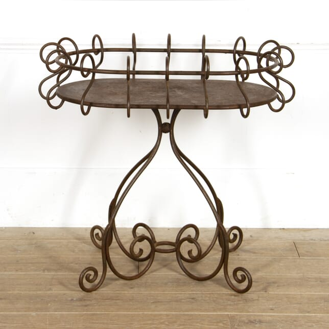 French Iron Florist's Plant Stand Table GA1517624