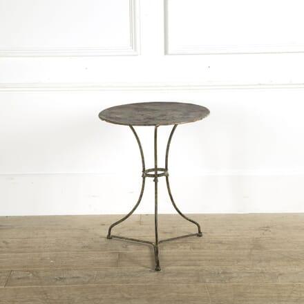 French Iron Garden Table GA159332
