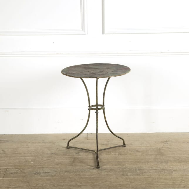French Iron Garden Table GA159332