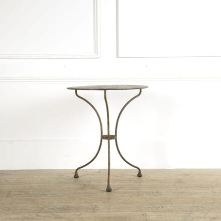 French Iron Garden Table GA159333
