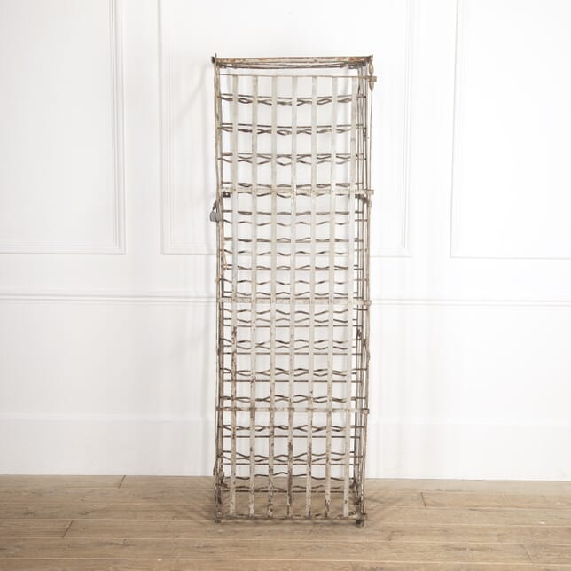 French Lockable Iron Wine Cage DA1516497