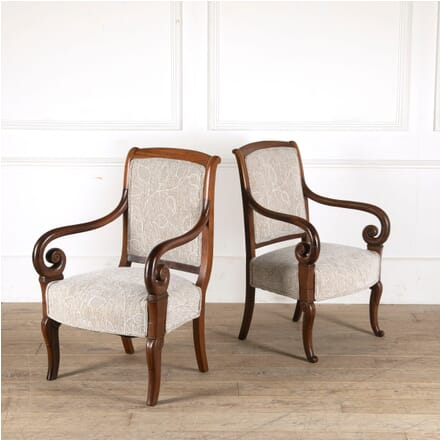 French Louis Philippe Mahogany Chairs CH8811006