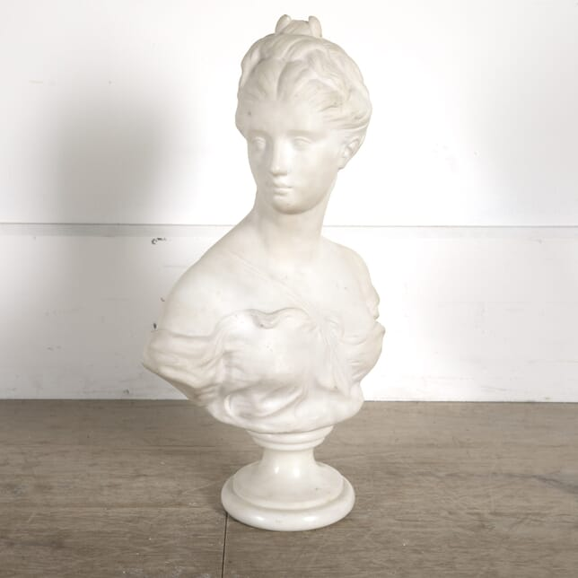 19th Century French Marble Bust of Diana OF0210233