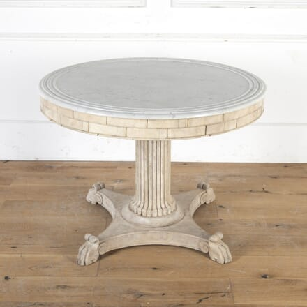 French Centre Table with Marble Top TC3615962