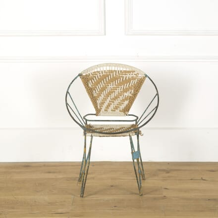 French Mid 20th Century Side Chair CH379516