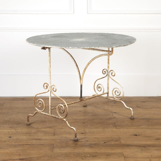 French Mid Century Tilt-Top Garden Table GA9016816