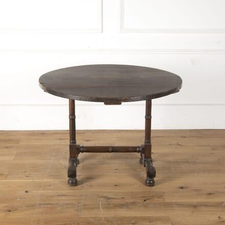 French 18th Century Oak Folding Table TS4753886