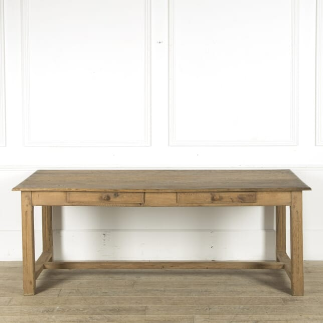 French Oak Refectory Table TD489860