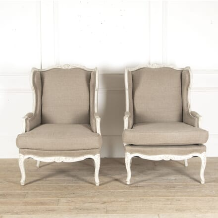 French Painted Armchairs CH4812917