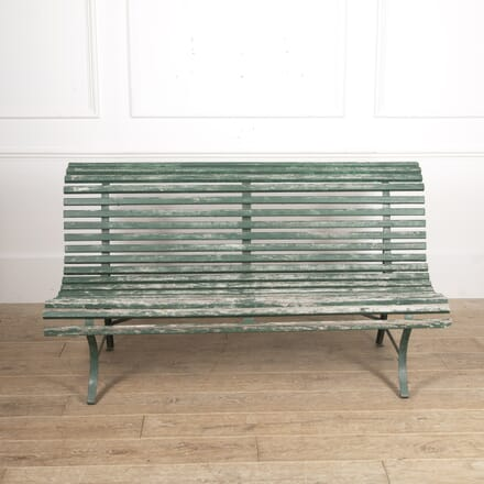 French Painted Garden Bench GA1515403