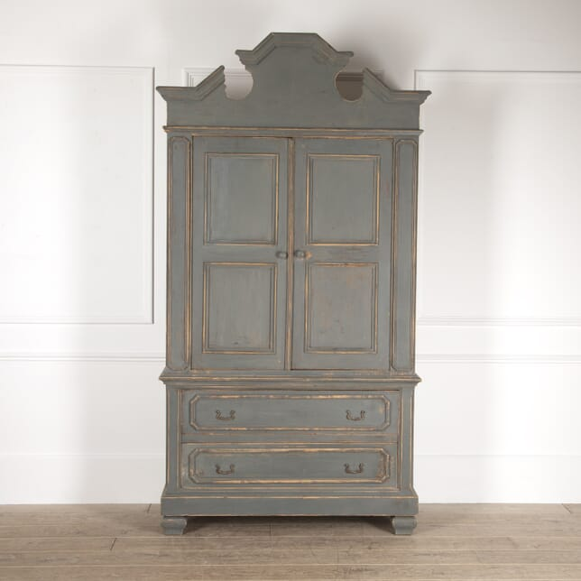 French Painted Linen Press CU4814134