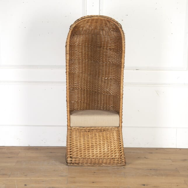 French Rattan Lifeguard's Chair CH4315164