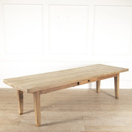 French Scrub-Top Farmhouse Table in Solid Ash TD0113624