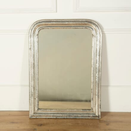 French Silver Gilt Mirror MI719134