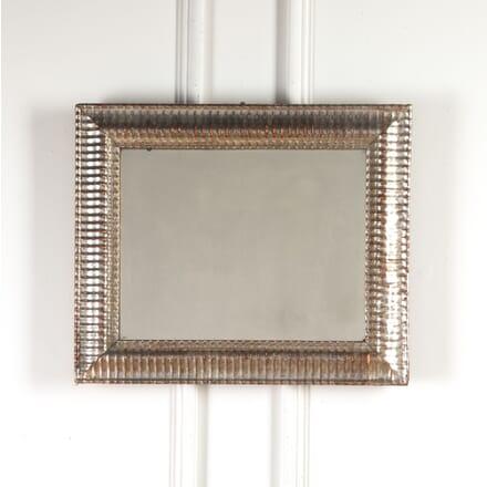 French Silver Gilt Ripple Mirror MI7116957