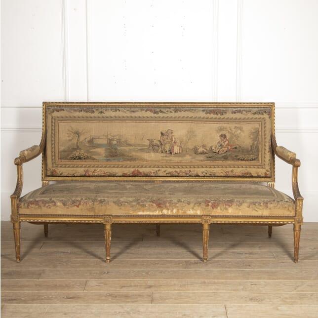 French 19th Century Gilt Sofa CH3516012