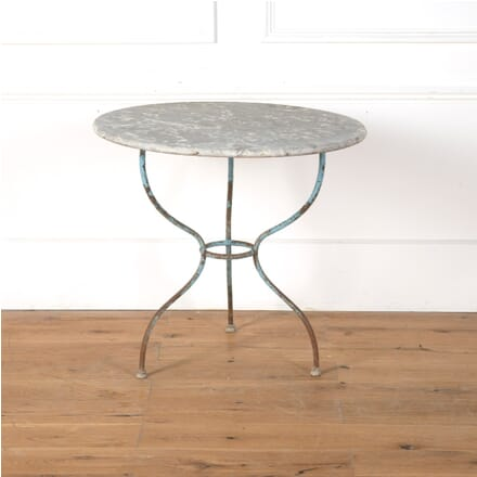 French Stone Topped Garden Table GA7110797