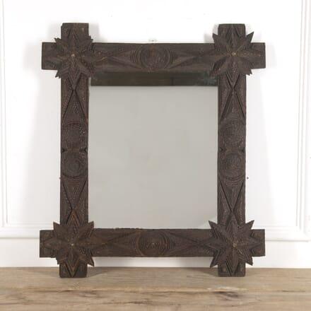 French Tramp Art Mirror MI1515400