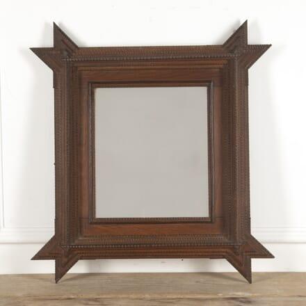 French Carved Tramp Art Mirror MI1515401