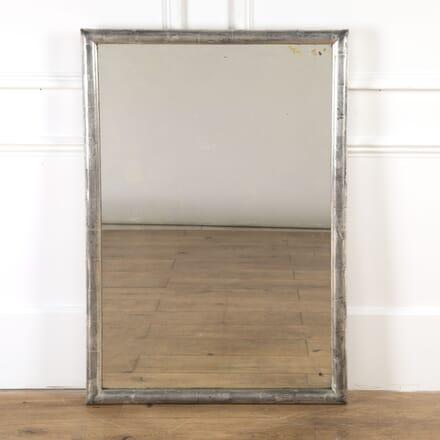 French Water Gilded Silver Bistro Mirror MI7116954