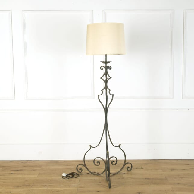 French Wrought Iron Floor Lamp LF379652