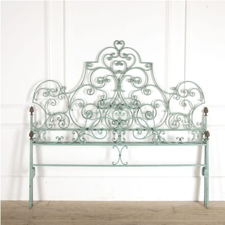 French Wrought Iron King Sized Bed BD5213603