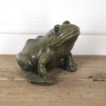 Green Glazed Frog Ornament DA1316853