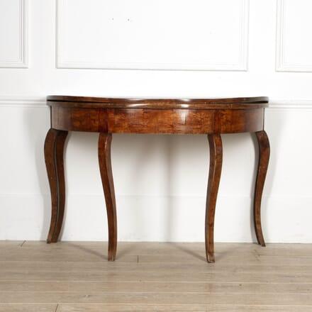 Swedish Fruitwood Folding Table CO5117379