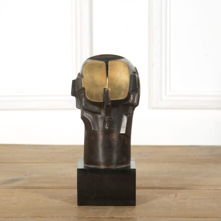 Futuristic Bronze Sculpture of a Head DA579051