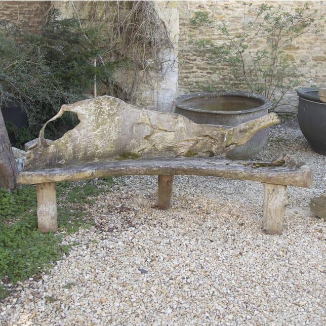 Rustic Wooden Garden Bench GA1914415