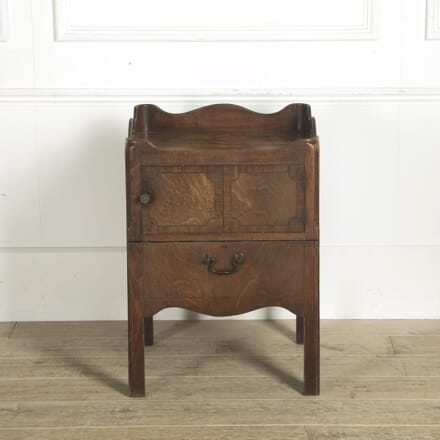 George III Mahogany Night Stand BD9910533