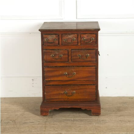 George III Painted Pine Chest of Drawers CB0910106