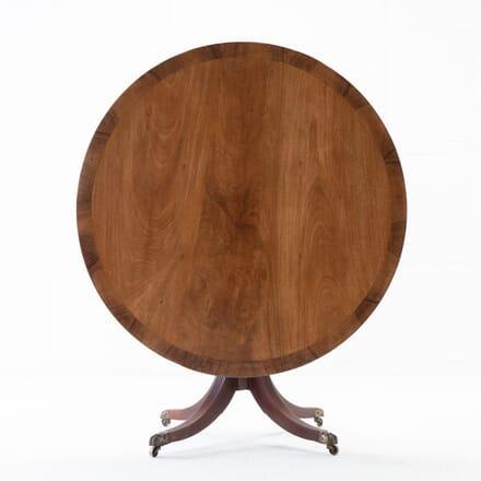 George III Mahogany Centre Table TC0616248