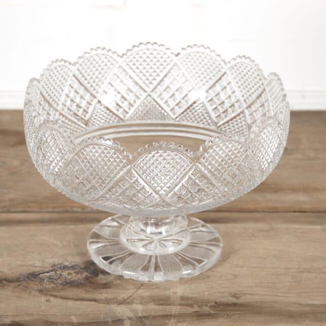 Georgian Anglo-Irish Large Crystal Bowl DA5815458