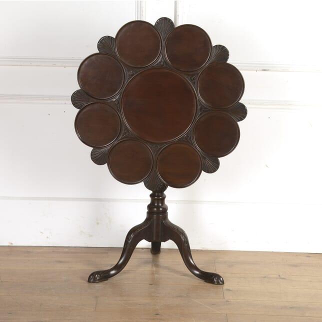 Georgian Irish Mahogany Tripod Table CO8416109