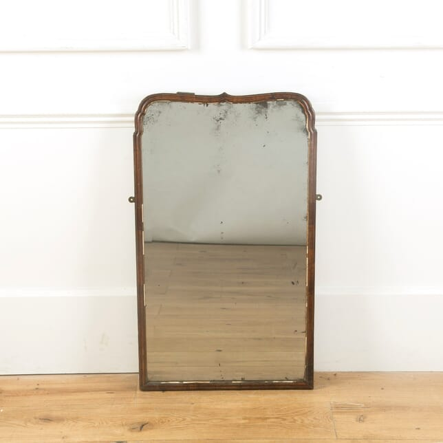 Georgian Period Moulded Walnut Mirror MI999934