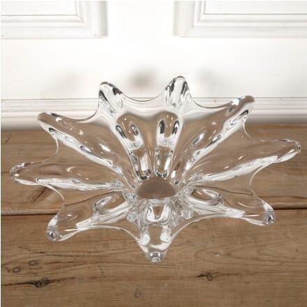 Giant French Crystal Splash Bowl Vase DA5811400