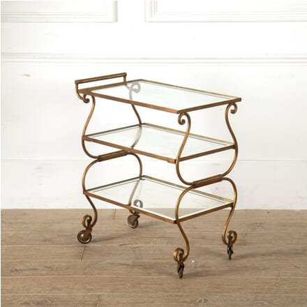 Gilded Iron Cocktail Trolley CT3011032