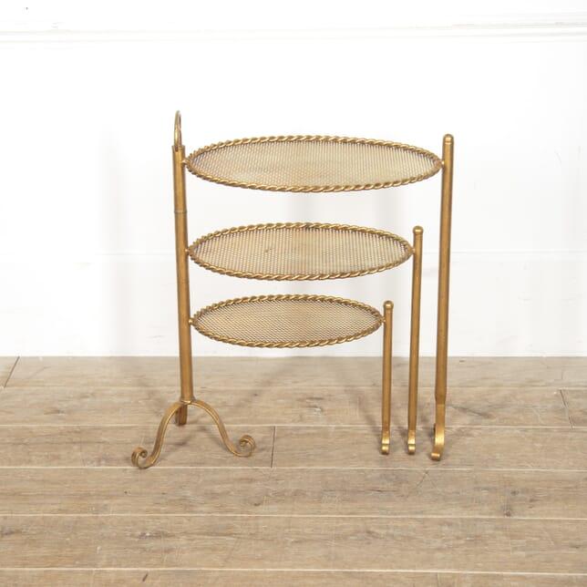 Spanish Mid Century Gilt Side Table CO3016011