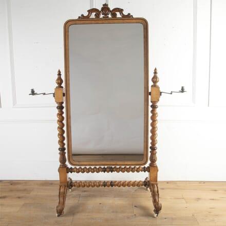 Gillow & Co Gentlemen's Cheval Mirror MI8716251