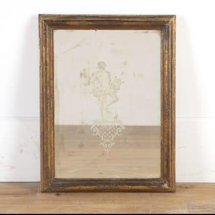 Italian Gilt Etched Mirror MI3614564
