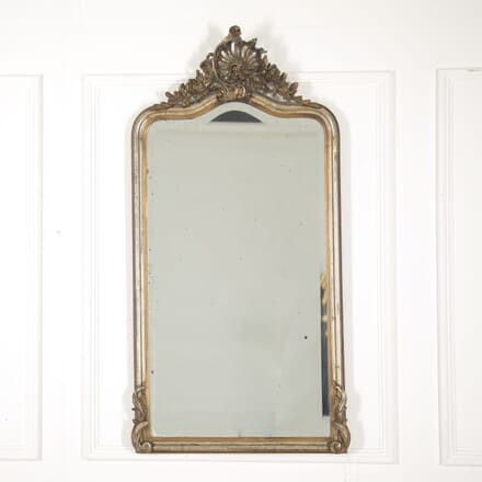 Gilt and Silver Louis XV Style Mirror MI2914847