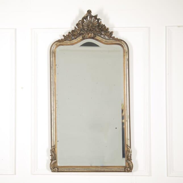 Gilt and Silver Louis XV Style Mirror MI2914847