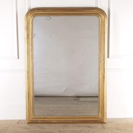 French Gilt Overmantle Mirror MI4814590