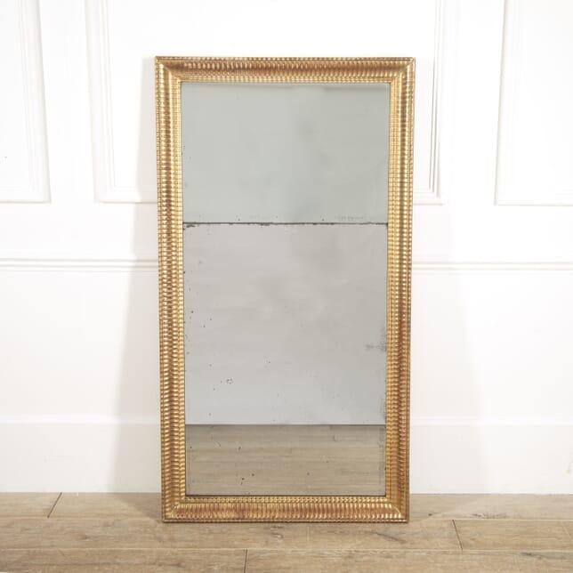 Napoleon III Gilt Ripple Mirror MI4515043
