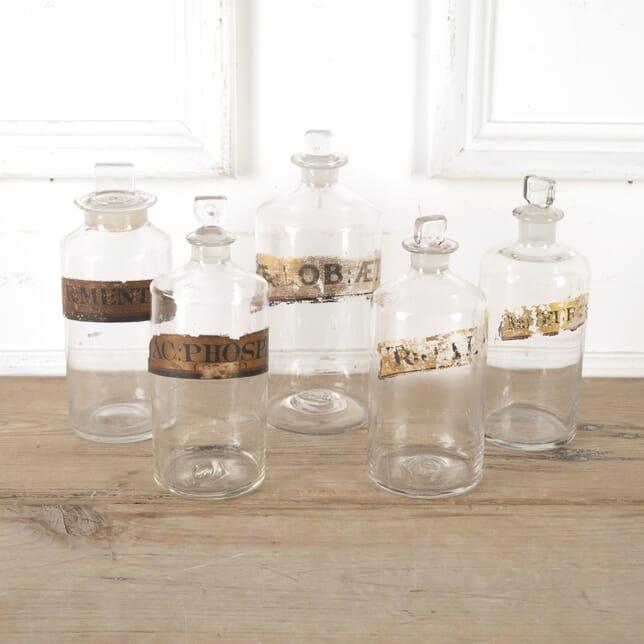 Glass Apothecary Bottles DA9913731