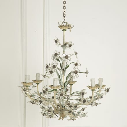 Glass Flower Chandelier LC1310008