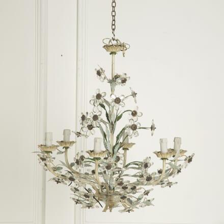 Glass Flower Chandelier LC1310008