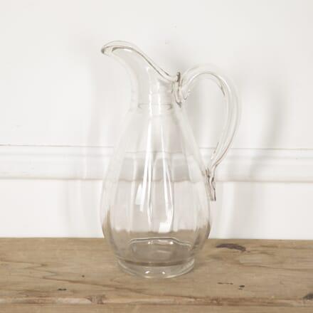 Edwardian Glass Water Jug DA1316847
